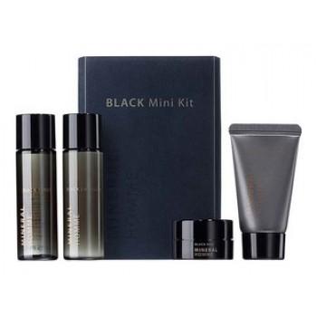 Набор миниатюр мужской увлажняющий Mineral Homme Black Mini Kit