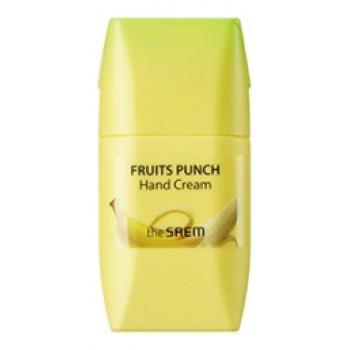 Крем для рук банановый пунш Fruits Punch Banana Hand Cream