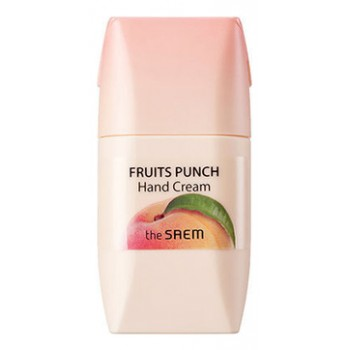 Крем для рук персиковый пунш Fruits Punch Peach Hand Cream