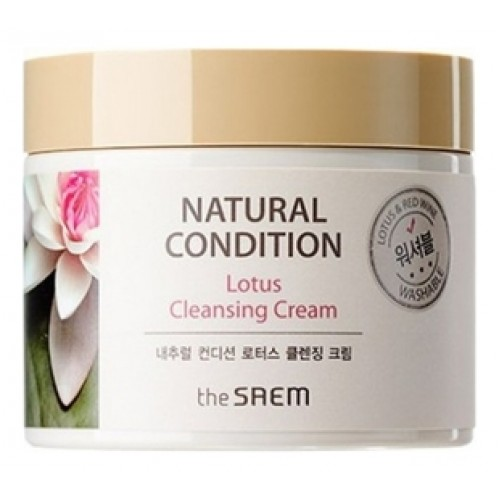 Крем очищающий лотос NATURAL CONDITION Lotus Cleansing Cream (N2)