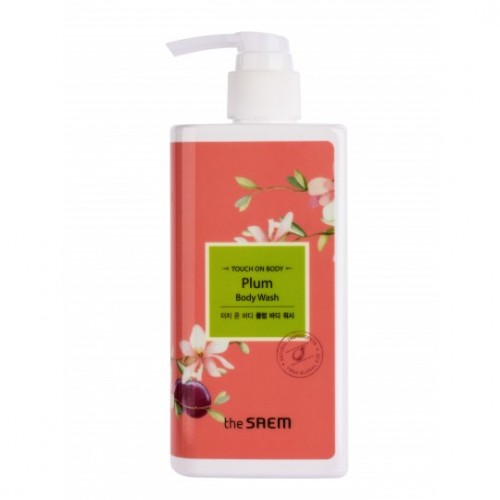 Гель для душа слива TOUCH ON BODY Plum Body Wash