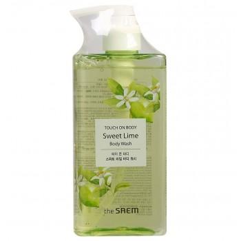 Гель для душа сладкий лайм TOUCH ON BODY Sweet Lime Body Wash