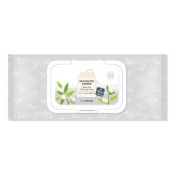 Салфетки очищающие с экстрактом белого чая Healing Tea Garden WhiteTea Cleansing Tissue