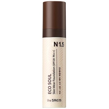 Тональная основа Eco Soul Skin Wear Foundation N 1.5 Warm tone