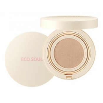 Основа тональная 01 Eco Soul Bounce Cream Foundation Matte 01 PROMO