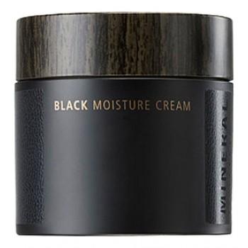 Крем для лица увлажняющий Mineral Homme Black Moisture Cream