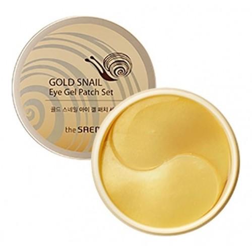 Набор патчей с экстрактом муцина улитки для век Gold Snail Eye Gel Patch Set