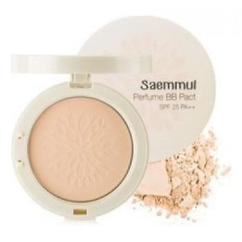 Пудра компактная ароматизированная 21 Saemmul Perfume BB Pact SPF25 PA++ 21.Pink Beige