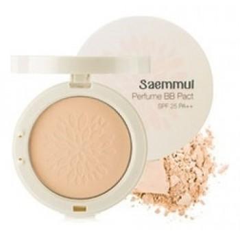 Пудра компактная ароматизированная 23 Sammul Perfume BB Pact SPF25 PA++ 23.Cover Beige