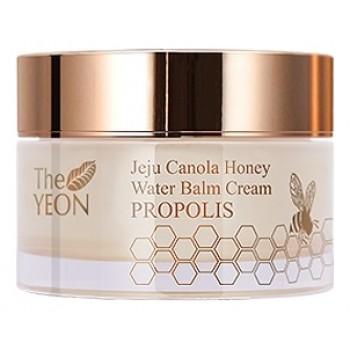 Крем-бальзам для лица увлажняющий Jeju Canola Honey Water Balm Cream Propolis
