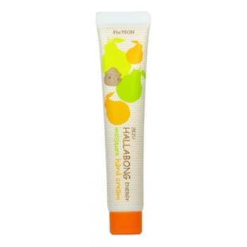 Крем для рук мандариновый увлажняющий Jeju Hallabong Energy Moisture Hand Cream