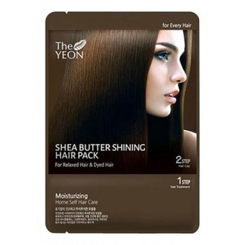 Маска для волос с маслом Ши Shea butter shining hair pack