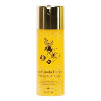 Крем для лица антивозрастной Jeju Canola Honey Wrapping Multi Cream