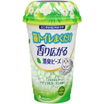 Шарики дезодорирующие для кошачьего туалета UNICHARM растительный запах 450 мл