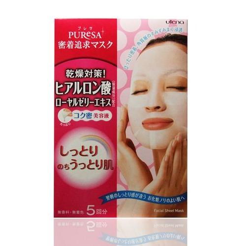 Увлажняющая маска с гиалуроновой кислотой и маточным молочком
