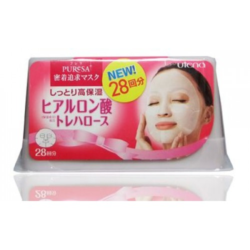 Увлажняющая маска с гиалуроновой кислотой и трегалозой для придания коже гладкости