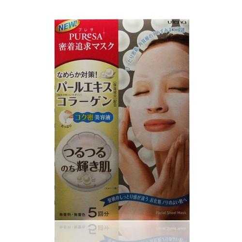Маска с экстрактом жемчуга и коллагеном для придания коже здорового блеска