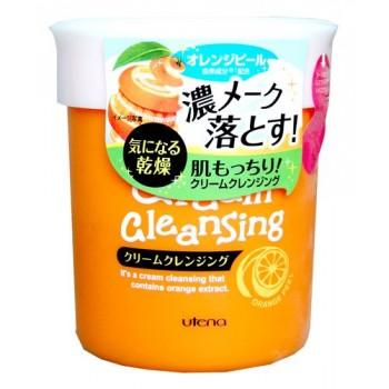 Массажный тонизирующий крем для очищения и снятия макияжа с экстрактом цедры апельсина