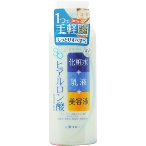 Лосьон-молочко 3 в 1 с эффектом UV-защиты SPF 5 с тремя видами гиалуроновой кислоты
