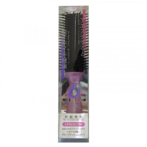 Щетка массажная для сухих,ослабленных волос с минералами горных пород
