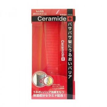 Расческа для увлажнения и смягчения волос с церамидами (складная, тонкая)