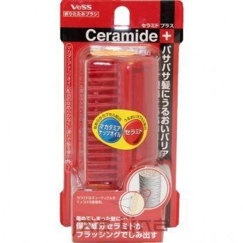 Расческа для увлажнения и смягчения волос с церамидами (складная)
