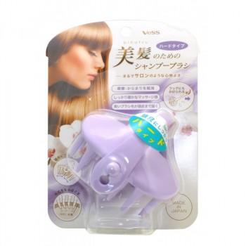 Массажер для кожи головы фиолетовый