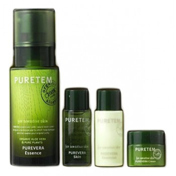 Набор с экстрактом алоэ вера Puretem Purevera Essence Set