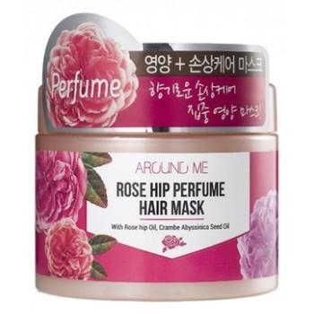 Маска для поврежденных волос Around me Rose Hip Perfume Hair Mask
