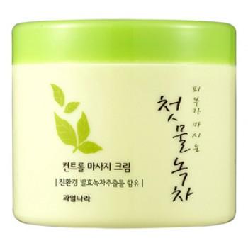 Крем массажный Green Tea Control Massage Cream