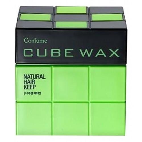Воск для укладки волос Confume Cube Wax Natural Hair Keep