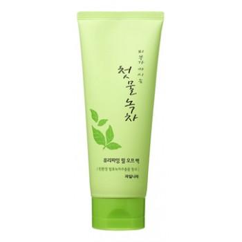 Маска-пленка для лица очищающая Green Tea Purifying Peel Off Pack