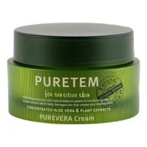 Крем для лица с экстрактом алоэ вера Puretem Purevera Cream