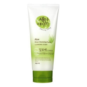 Пенка для умывания Cleansing Story Foam Cleansing (Aloe)