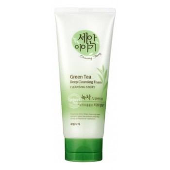 Пенка для умывания Cleansing Story Foam Cleansing (Green Tea)