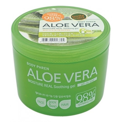 Гель для тела успокаивающий Aloe vera Moisture Real Soothing Gel