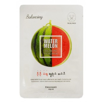 Маска для лица Kwailnara Watermelon Balancing Facial Mask