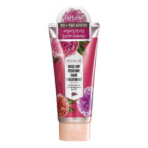 Маска для поврежденных волос Around me Rose Hip Perfume Hair Treaetment