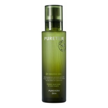 Тонер для лица с экстрактом алоэ вера Puretem Purevera Skin