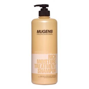 Шампунь для волос Mugens Rich Moisture Treatment Shampoo