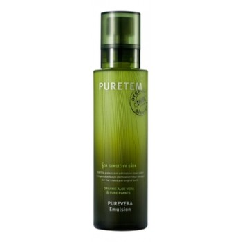Эмульсия для лица с экстрактом алоэ вера Puretem Purevera Emulsion