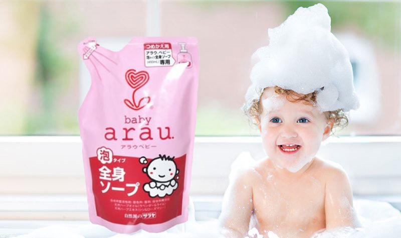Детские шампуни из Кореи и Японии
