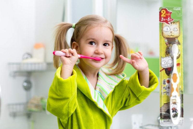 Купить детскую зубную щетку