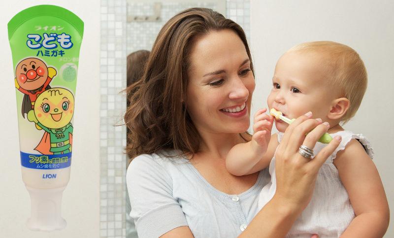 Лучшие зубные пасты для детей