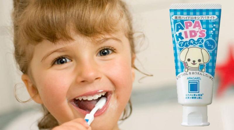 Купить зубную пасту детей