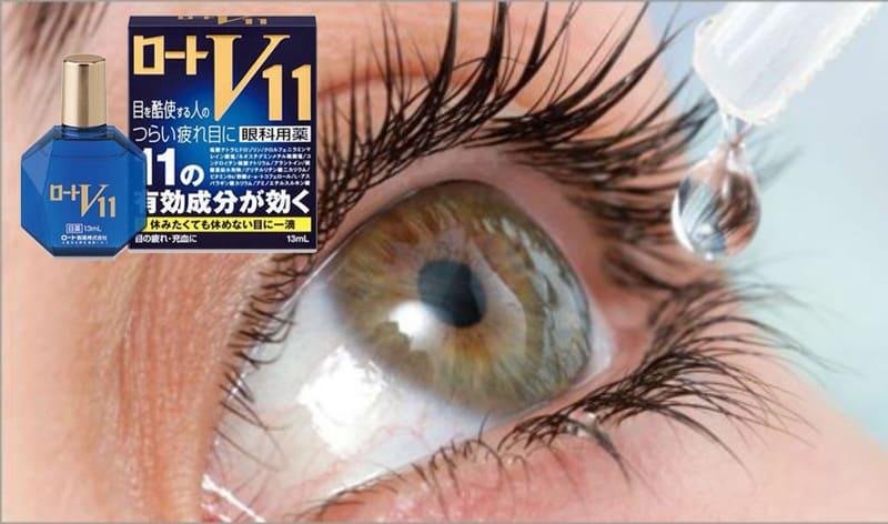 Преимущества японских капель для глаз